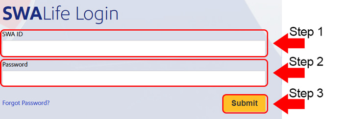 southwest airlines life login