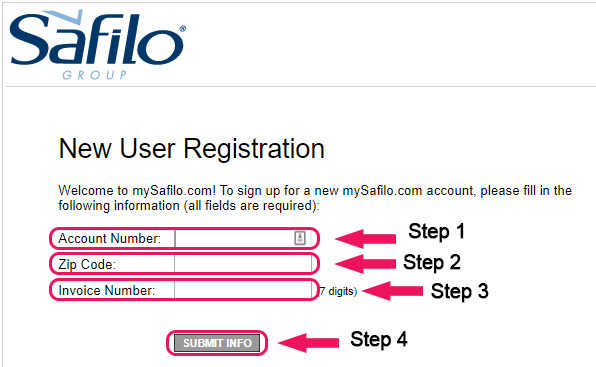 safilo website sign up