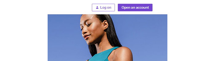 ETrade Login button
