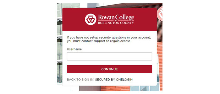 Burlington County College Blackboard Forgot Password